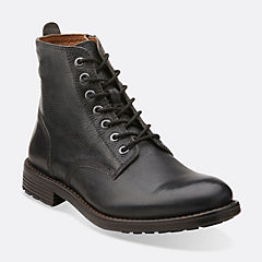 Faulkner Rise Black Leather mens-view-all