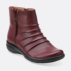 Kearns Blush Burgundy Leather womens-view-all