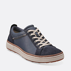 Lorsen Edge Navy Combi Leather mens-1825