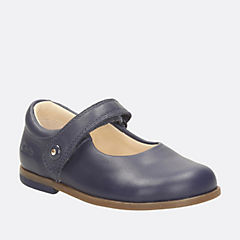 Bonnie Boo Fst Navy Leather