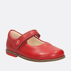 Bonnie Boo Fst Red Leather
