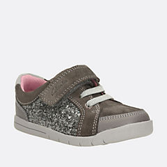 Crazy Cute First Silver Combi girls-shoes