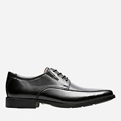 Tilden Walk Black Leather mens-collection