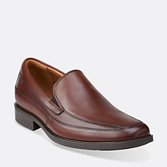 Tilden Free Brown Leather mens-dress-slip-ons