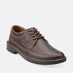 Kyros Edge Brown Tumbled Leather mens-casual-shoes