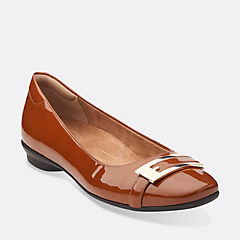 Candra Glare Cognac Patent Leather womens-view-all