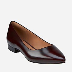 Corabeth Abby Burgundy Leather
