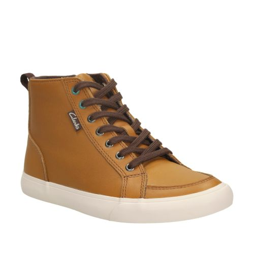 Club Jive Toddler Tan Leather boys-shoes