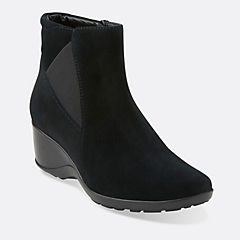 Allura Mystic Black Suede womens-view-all
