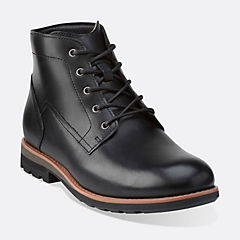 Padley Mid Black Warm Lined Leather mens-view-all