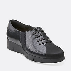 Daelyn Vista Black Leather womens-view-all