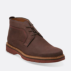Newkirk Top Dark Brown Nubuck mens-1825