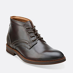 Bushwick Mid Dark Brown Lea mens-view-all