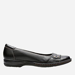 Pegg Abbie Black Leather womens-view-all