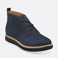 Glick Willa Navy Nubuck
