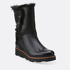 Okemo Sienna Black Leather