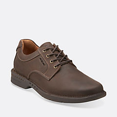 Untilary Way Dark Brown Nubuck mens-1825