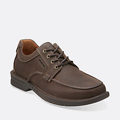 Untilary Pace Brown Nubuck mens-oxfords-lace-ups