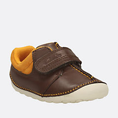Tiny Joe Baby Brown Leather boys-pre-walker