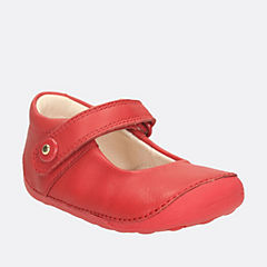 Little Boo Baby Red Leather girls-pre-walker