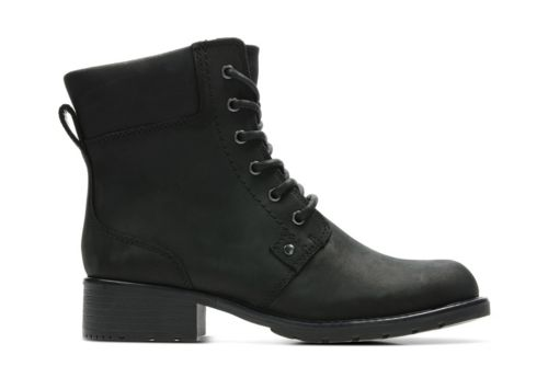 Orinoco Spice Black Leather womens-boots