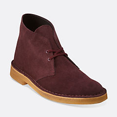 Desert Boot Wine Suede