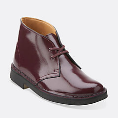 Desert Boot. Wine Patent