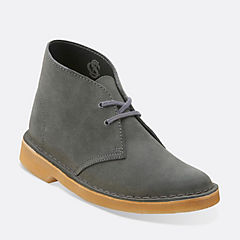 Desert Boot. Dark Grey
