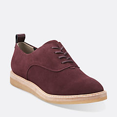 Empress Lo Wine Suede