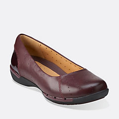 Un Hearth Burgundy Leather womens-view-all
