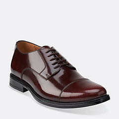 Kinnon Cap Burgundy Leather mens-collection