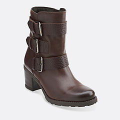 Fernwood Lake Dark Brown Combi Leather womens-view-all