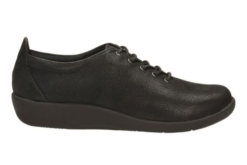Sillian Tino  Black Synthetic Nubuck womens-medium-width