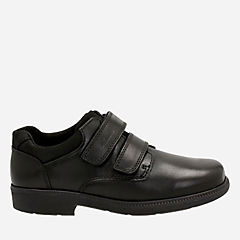 Deaton Toddler Black Leather boys-toddler
