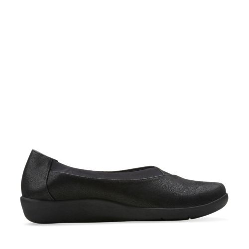 Sillian Jetay Black Synthetic Nubuck womens-medium-width
