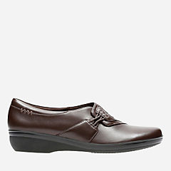 Everlay Iris Brown Leather womens-narrow-width