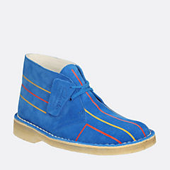 Womens Desert Lines Blue Electric originals-halo