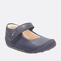 Little Boo Baby Navy Leather girls-pre-walker