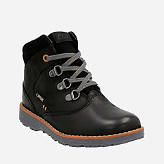 Day Hi GTX Toddler  Black Leather boys-boots
