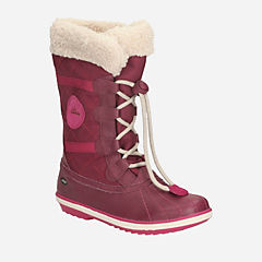 FabYou GTX Toddler Berry Leather girls-boots