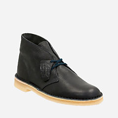 Desert Boot Navy Leather mens-view-all