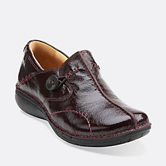 Un Loop Burgundy Patent