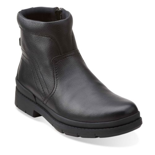 Kimball Zip Black Tumbled Leather mens-view-all