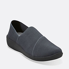 Sillian Firn Black Synthetic cloud-steppers