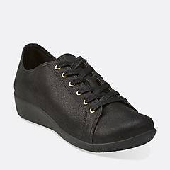Sillian Glory Black Synthetic cloudsteppers-new-arrivals