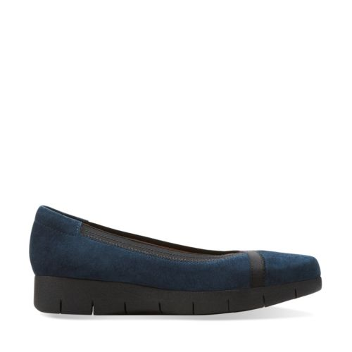 Clarks Removable Footbed Womens Shoes