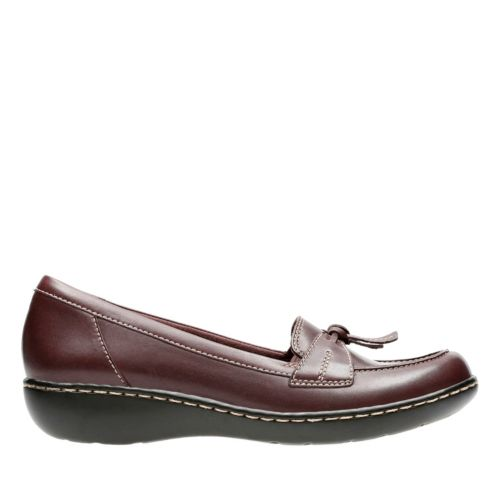 Ashland Bubble Burgundy Leather womens-flats