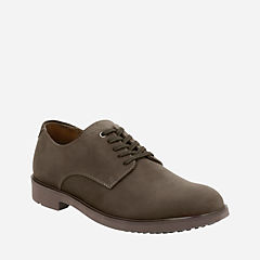 Riston Plain Brown Leather mens-collection