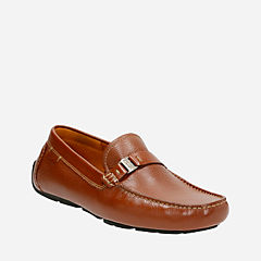 Davont Saddle Tan Leather mens-casual-shoes