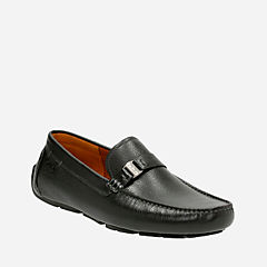 Davont Saddle Blk Tumbled Lea mens-casual-shoes
